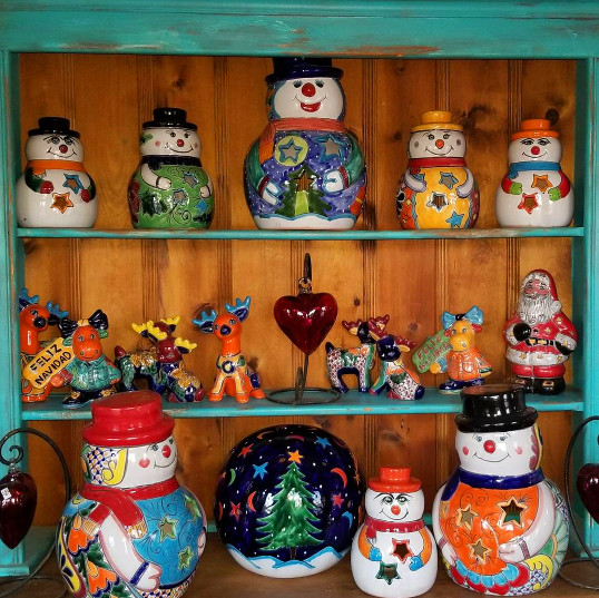 Christmas Talavera Decorations