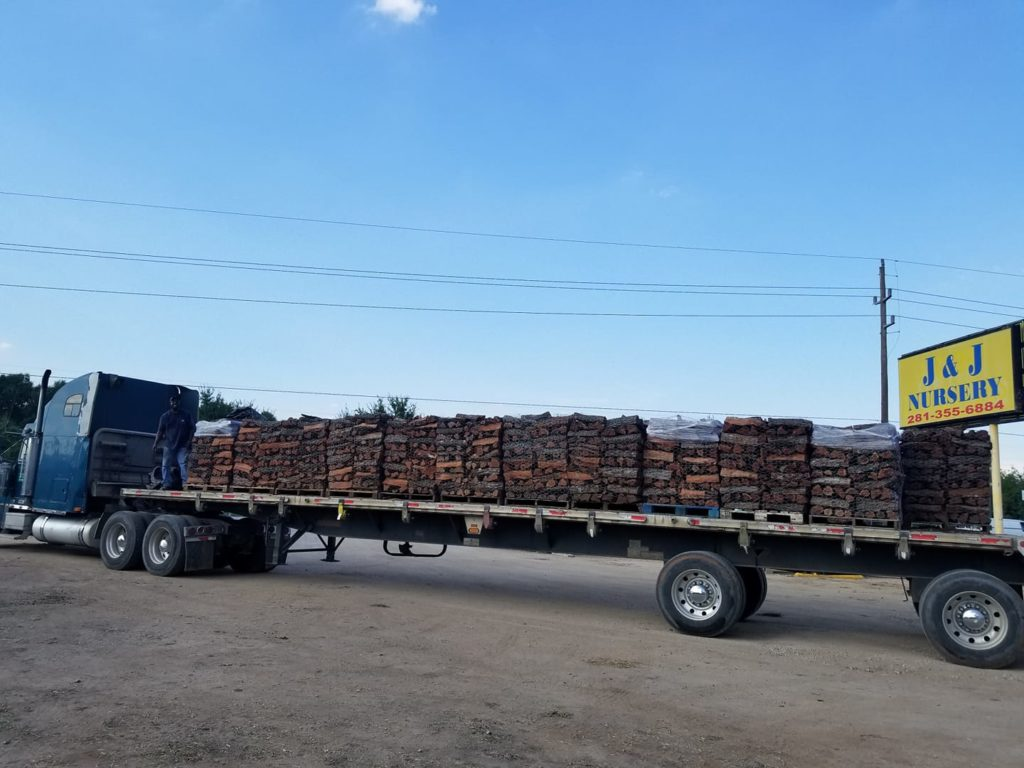 Mesquite Firewood arriving at our other store!