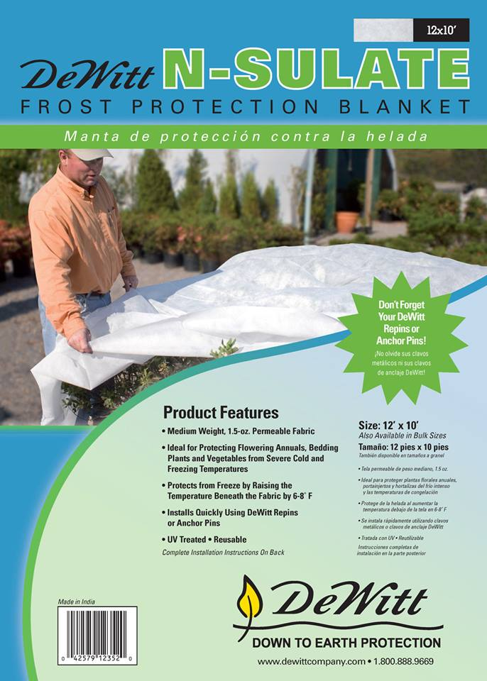 DeWitt Frost Cloth