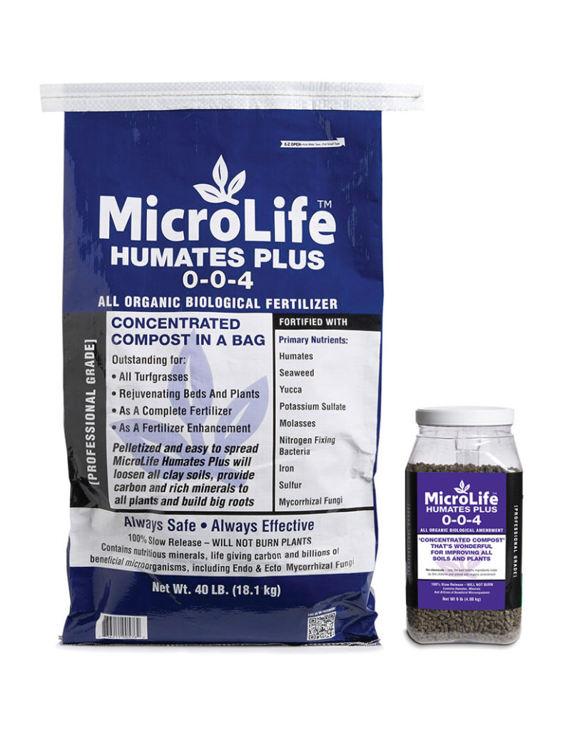 MicroLife Humates Plus 0-0-4 All Organic Biological Soil Amendment.