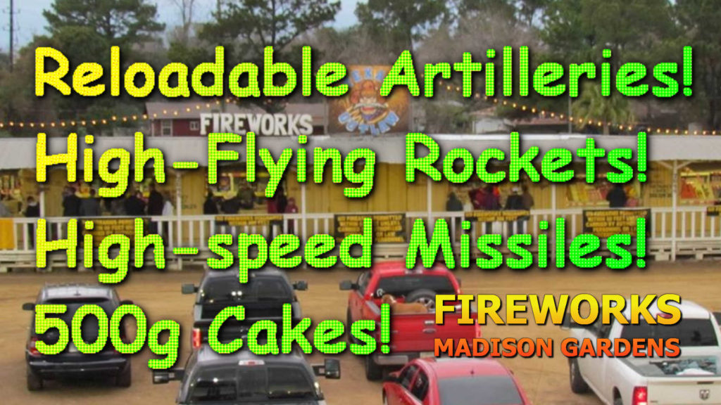 Missiles, rockets, artilleries, 500g cakes and more!