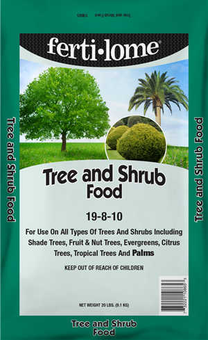 Fertilome's Tree and Shrub Food! Designed to apply twice a year!