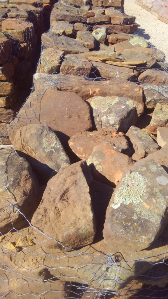 Moss Rock boulders ready to be added to your landscape!