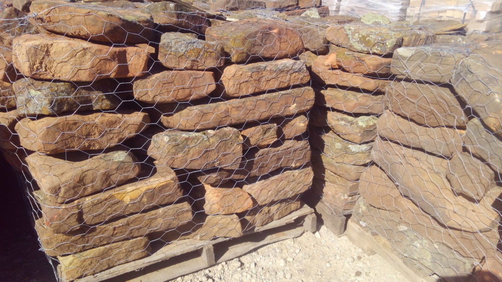 New moss rock pallets for your yard!