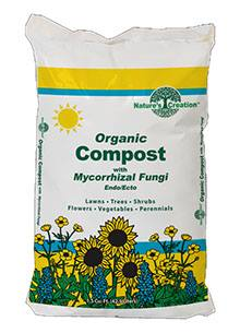 Nature's Creation Organic Compost with Mycorrhizal Fungi