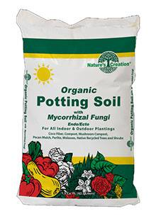 Nature's Creation Organic Potting Soil with Mycorrhizal Fungi