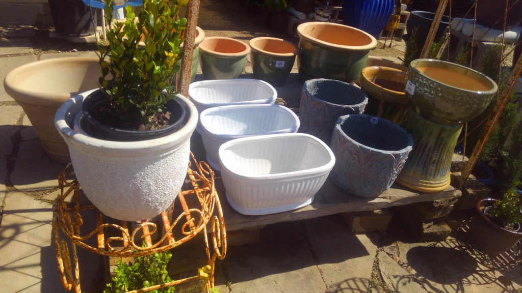 New stock of pottery for your plants!