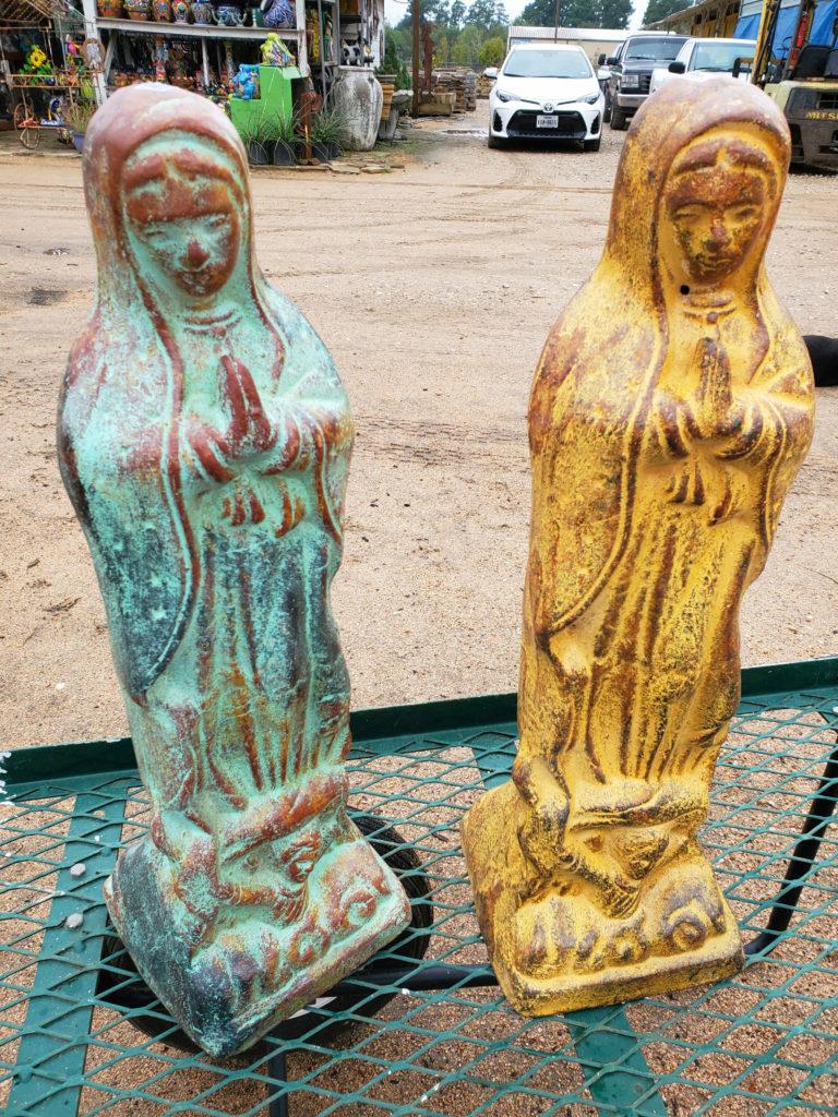 Mary statue!