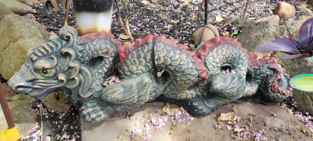 Cement dragons and many other cement figurines!
