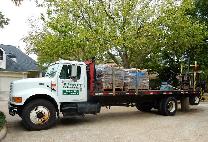 We deliver mulch, stone and more!
