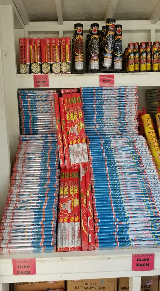 Roman Candles of all kinds at Madison Gardens Nursery, Spring, TX