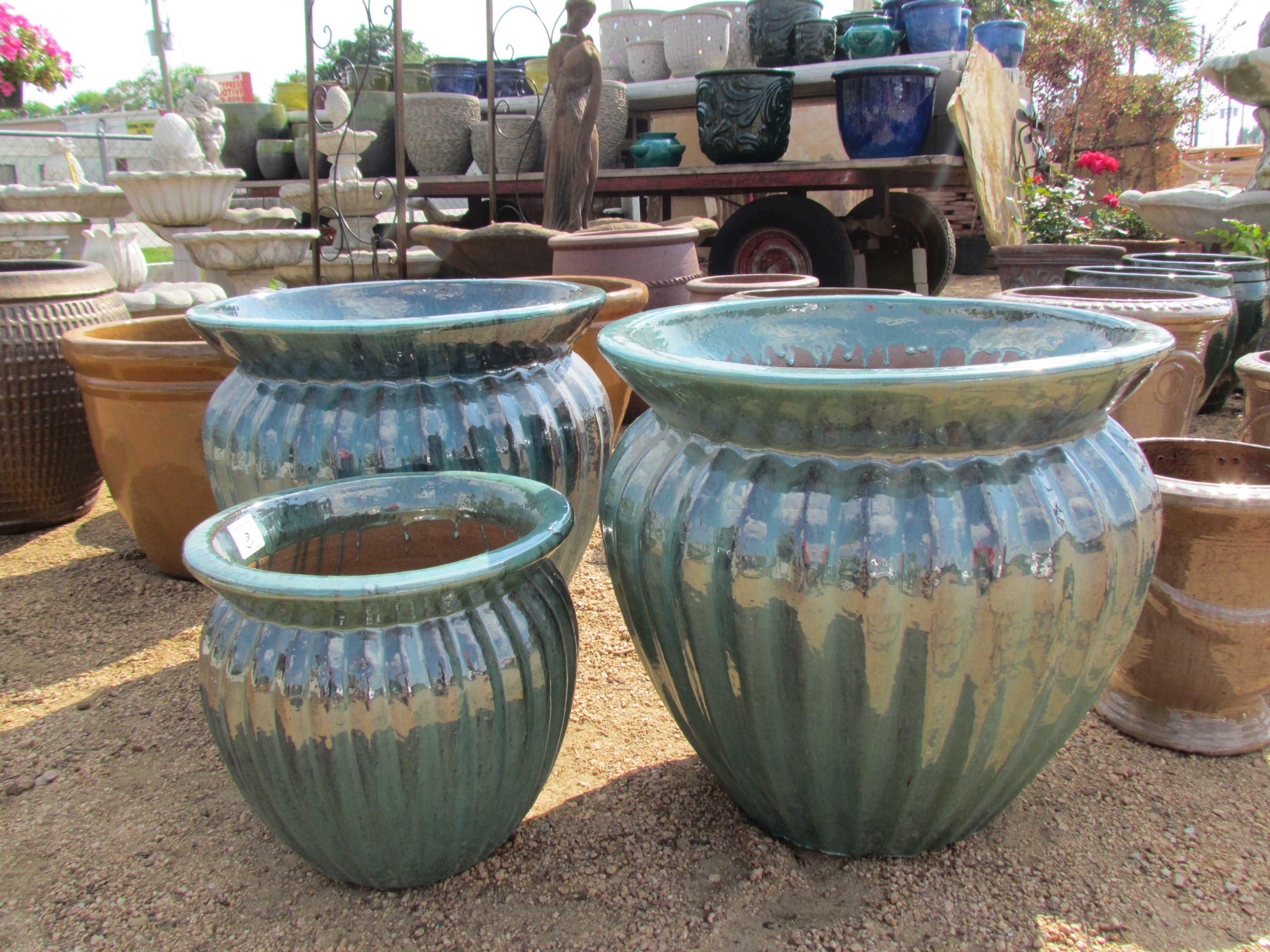 Pottery at Madison Gardens Nursery, Spring, TX