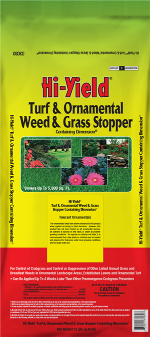 Turf & Ornamental Weed & Grass Stopper