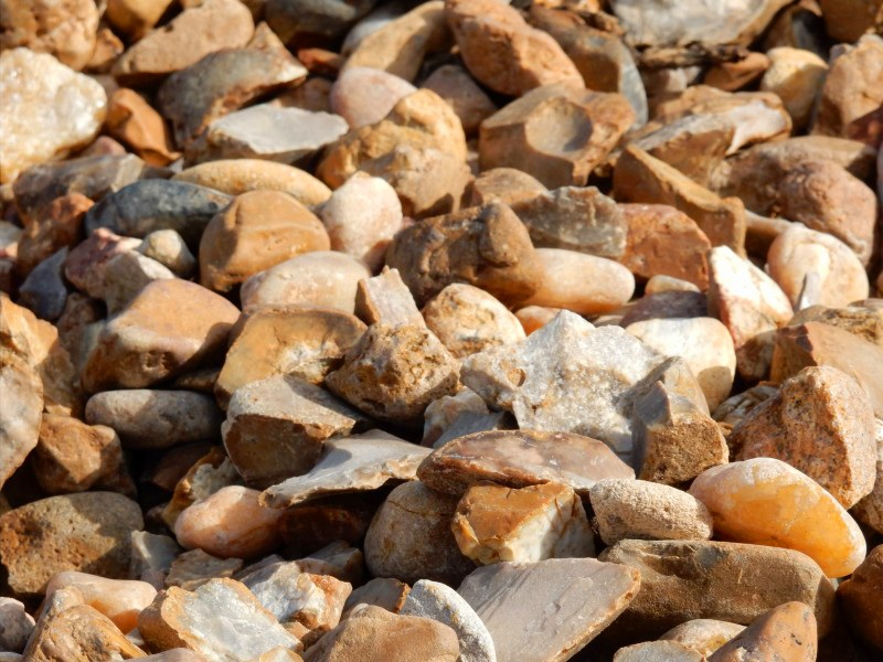 Bullrock. Used for drainage and decorative rock beds instead of flower beds.