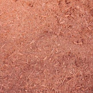 Double ground hardwood red mulch.